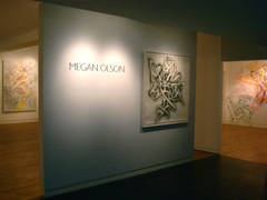 Megan Olson - Spray Paintings, New York 2009